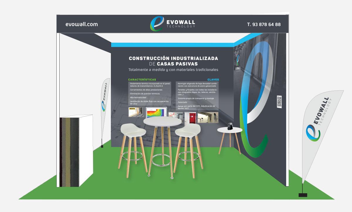 evowall stand feria edifica passivhaus