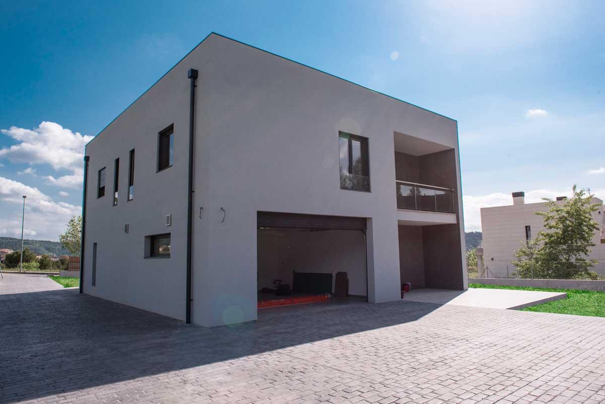 Casa de la llum, casa amb certificació Passivhaus