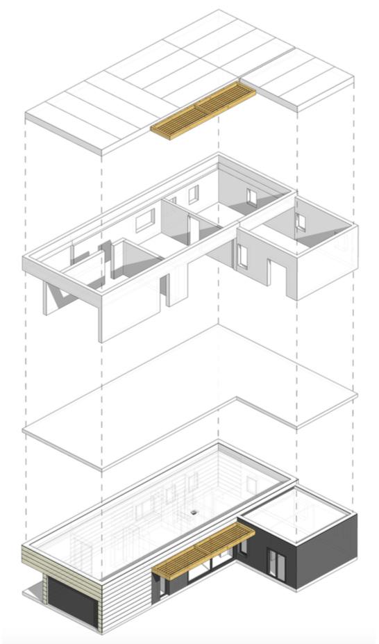 Casas prefabricadas con energía solar