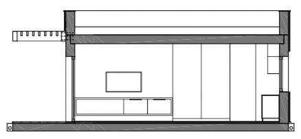 casas prefabricadas pasivas con cubierta plana