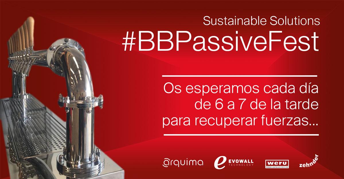 #BBPassiveFest, para recuperar fuerzas en Construmat