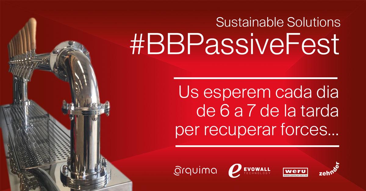 #BBPassiveFest, per recuperar forces a Construmat