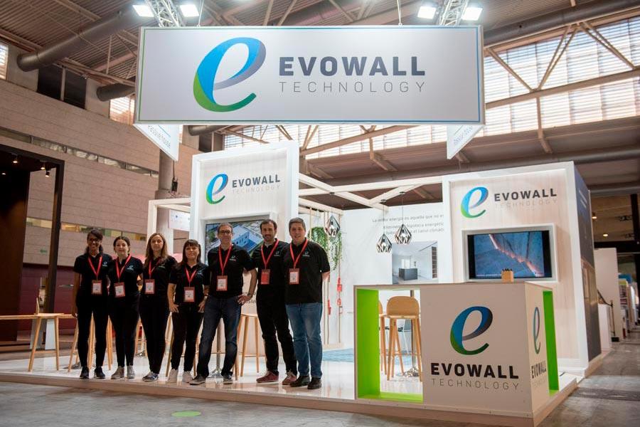 El stand Evowall en Construmat