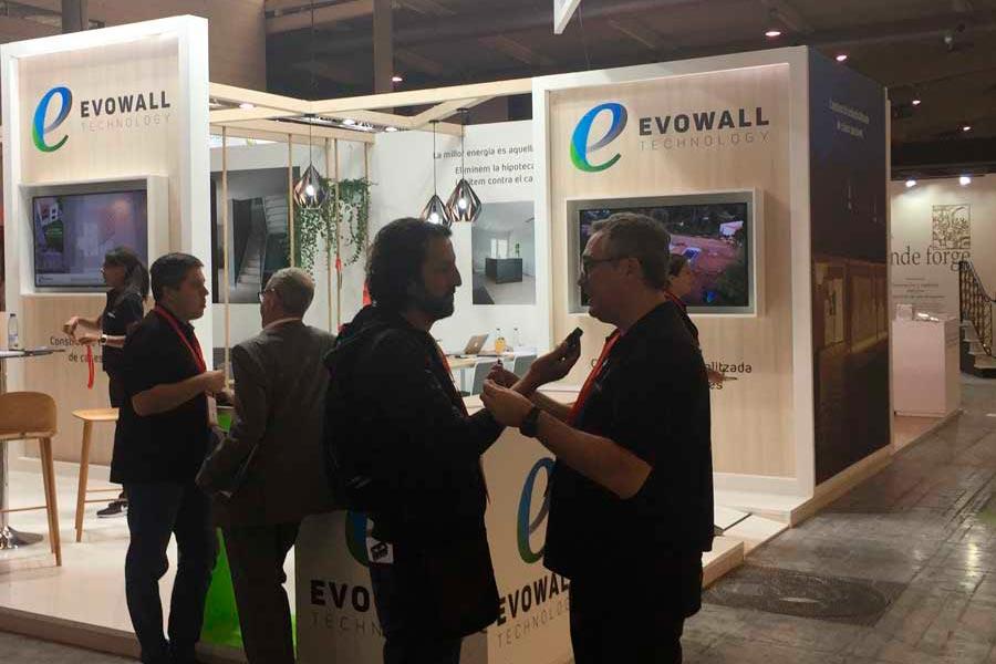 entrevista radio rtve de Evowall