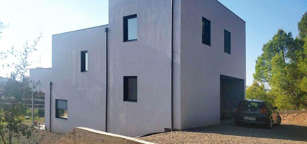 casa pasiva de cuatro niveles Evowall