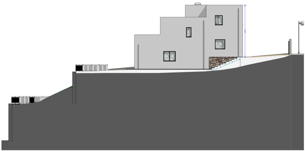casa prefabricada Evowall de 4 nivells