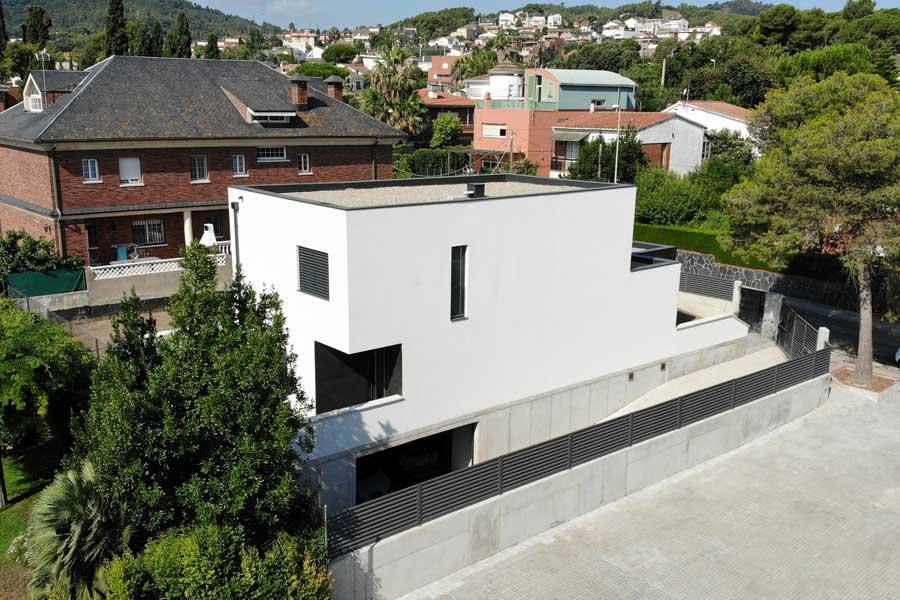 casa Passivhaus en Sant Boi, Barcelona
