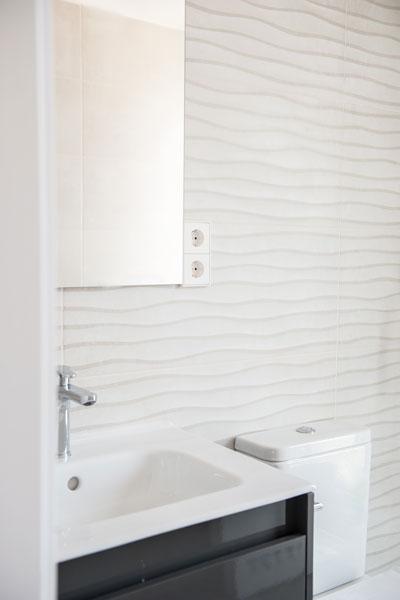 cuarto de baño para casa Passivhaus