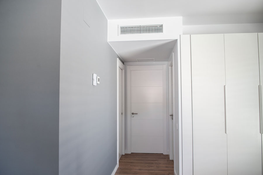 diseño interior de casa Passivhaus