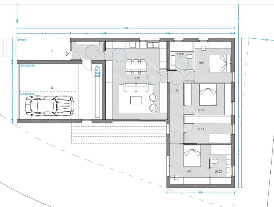 proyecto del arquitecto para poder construir una casa